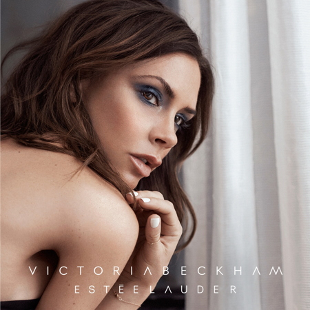 Victoria Beckham fronts the campaign for her new Estée Lauder makeup collection