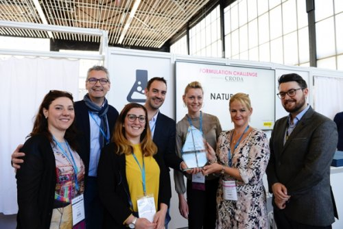 Naturalps ganhou o Formulation Challenge na in-cosmetics 2018