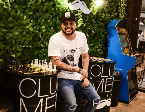 Rodrigo Guimarães, proprietário da Club Men Salon